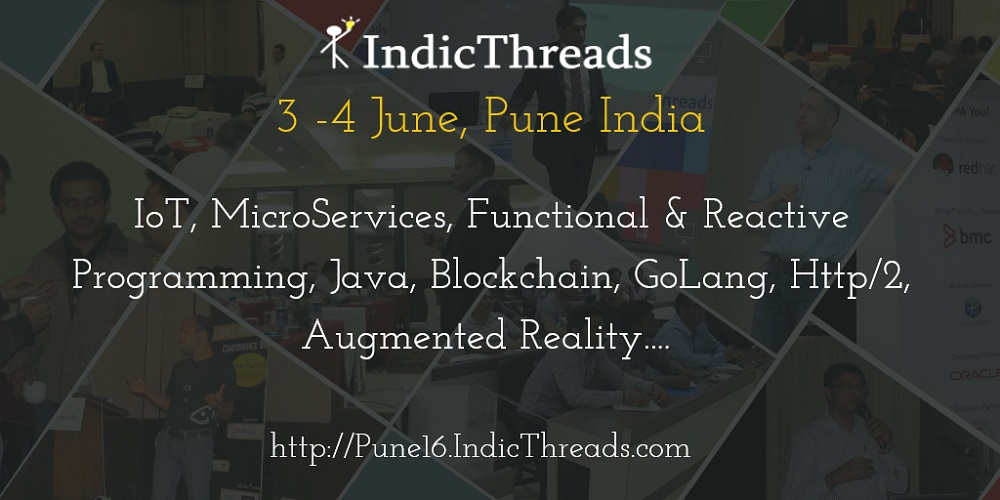 IndicThreads Conference, Pune, India